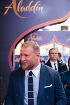 """PARIS, FRANCE – May 08: Guy Ritchie attends the """"Aladdin"""" Paris Gala Screening at Cinema Le Grand Rex on May 08, 2019 in Paris, France."""