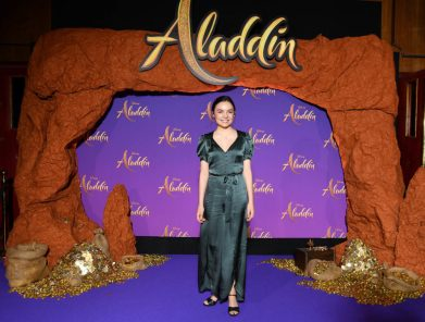 """PARIS, FRANCE - MAY 08: Jade Leboeuf attends the """"Aladdin"""" gala screening at Le Grand Rex on May 08, 2019 in Paris, France. (Photo by Pascal Le Segretain/Getty Images For Disney)"""