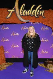 """PARIS, FRANCE - MAY 08: Lola Dubini attends the """"Aladdin"""" gala screening at Le Grand Rex on May 08, 2019 in Paris, France. (Photo by Pascal Le Segretain/Getty Images For Disney)"""