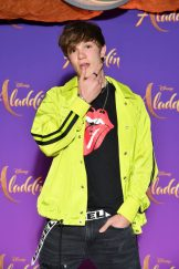 """PARIS, FRANCE - MAY 08: Lenni-Kim attends the """"Aladdin"""" gala screening at Le Grand Rex on May 08, 2019 in Paris, France. (Photo by Pascal Le Segretain/Getty Images For Disney)"""