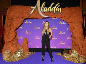 """PARIS, FRANCE - MAY 08: Lena Situations attends the """"Aladdin"""" gala screening at Le Grand Rex on May 08, 2019 in Paris, France. (Photo by Pascal Le Segretain/Getty Images For Disney)"""
