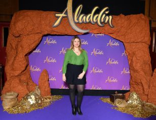 """PARIS, FRANCE - MAY 08: Heloise Martin attends the """"Aladdin"""" gala screening at Le Grand Rex on May 08, 2019 in Paris, France. (Photo by Pascal Le Segretain/Getty Images For Disney)"""
