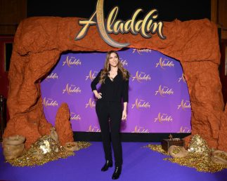 """PARIS, FRANCE - MAY 08: Sarah'H attends the """"Aladdin"""" gala screening at Le Grand Rex on May 08, 2019 in Paris, France. (Photo by Pascal Le Segretain/Getty Images For Disney)"""