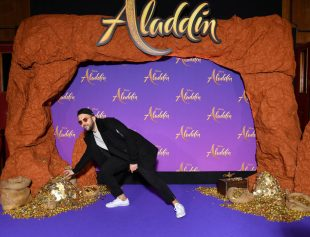 """PARIS, FRANCE - MAY 08: Jhon Rachid attends the """"Aladdin"""" gala screening at Le Grand Rex on May 08, 2019 in Paris, France. (Photo by Pascal Le Segretain/Getty Images For Disney)"""