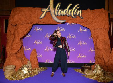 """PARIS, FRANCE - MAY 08: Carla Ginola attends the """"Aladdin"""" gala screening at Le Grand Rex on May 08, 2019 in Paris, France. (Photo by Pascal Le Segretain/Getty Images For Disney)"""