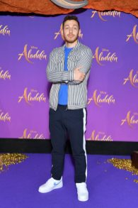 """PARIS, FRANCE - MAY 08: Alex Ramires attends the """"Aladdin"""" gala screening at Le Grand Rex on May 08, 2019 in Paris, France. (Photo by Pascal Le Segretain/Getty Images For Disney)"""