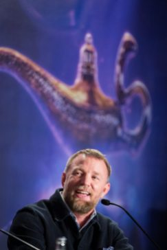 """Guy Ritchie attends the """"Aladdin"""" press conference on May 11, 2019 in Berlin, Germany. .© Disney/Folioscope/Hanna Boussouar"""