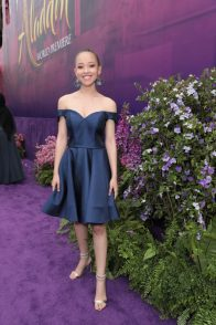 Shelby Simmons attends the World Premiere of DisneyÕs Aladdin at the El Capitan Theater in Hollywood, CA on Tuesday, May 21, 2019, in the culmination of the filmÕs Magic Carpet World Tour with stops in Paris, London, Berlin, Tokyo, Mexico City and Amman, Jordan. (photo: Alex J. Berliner/ABImages)