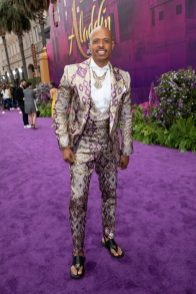 Jamal Sims attends the World Premiere of DisneyÕs Aladdin at the El Capitan Theater in Hollywood, CA on Tuesday, May 21, 2019, in the culmination of the filmÕs Magic Carpet World Tour with stops in Paris, London, Berlin, Tokyo, Mexico City and Amman, Jordan. (photo: Alex J. Berliner/ABImages)