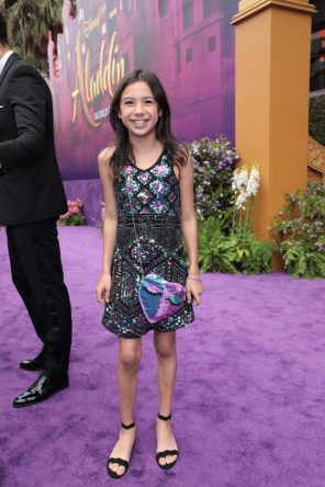 Scarlett Estevez attends the World Premiere of DisneyÕs Aladdin at the El Capitan Theater in Hollywood, CA on Tuesday, May 21, 2019, in the culmination of the filmÕs Magic Carpet World Tour with stops in Paris, London, Berlin, Tokyo, Mexico City and Amman, Jordan. (photo: Alex J. Berliner/ABImages)