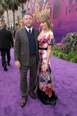 Director Guy Ritchie and Jacqui Ainsley attend the World Premiere of DisneyÕs Aladdin at the El Capitan Theater in Hollywood, CA on Tuesday, May 21, 2019, in the culmination of the filmÕs Magic Carpet World Tour with stops in Paris, London, Berlin, Tokyo, Mexico City and Amman, Jordan. (photo: Alex J. Berliner/ABImages)