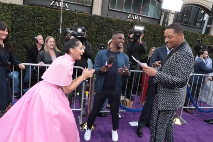 Naomi Scott and Will Smith attend the World Premiere of DisneyÕs Aladdin at the El Capitan Theater in Hollywood, CA on Tuesday, May 21, 2019, in the culmination of the filmÕs Magic Carpet World Tour with stops in Paris, London, Berlin, Tokyo, Mexico City and Amman, Jordan. (photo: Alex J. Berliner/ABImages)