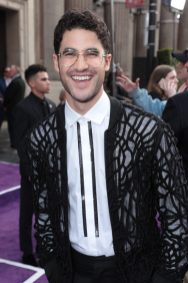 Darren Criss attends the World Premiere of DisneyÕs Aladdin at the El Capitan Theater in Hollywood, CA on Tuesday, May 21, 2019, in the culmination of the filmÕs Magic Carpet World Tour with stops in Paris, London, Berlin, Tokyo, Mexico City and Amman, Jordan. (photo: Alex J. Berliner/ABImages)