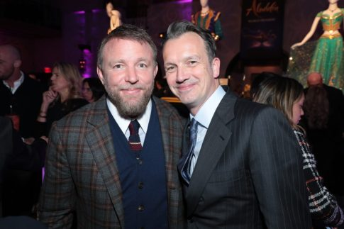 Guy Ritchie and Sean Bailey attend the World Premiere of DisneyÕs Aladdin after party at the Roosevelt Hotel in Hollywood, CA on Tuesday, May 21, 2019, in the culmination of the filmÕs Magic Carpet World Tour with stops in Paris, London, Berlin, Tokyo, Mexico City and Amman, Jordan. (photo: Alex J. Berliner/ABImages)
