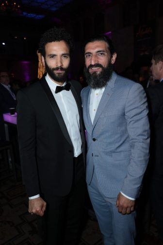Marwan Kenzari and Numan Acar attend the World Premiere of DisneyÕs Aladdin after party at the Roosevelt Hotel in Hollywood, CA on Tuesday, May 21, 2019, in the culmination of the filmÕs Magic Carpet World Tour with stops in Paris, London, Berlin, Tokyo, Mexico City and Amman, Jordan. (photo: Alex J. Berliner/ABImages)