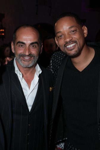 Navid Negahban and Will Smith attend the World Premiere of DisneyÕs Aladdin after party at the Roosevelt Hotel in Hollywood, CA on Tuesday, May 21, 2019, in the culmination of the filmÕs Magic Carpet World Tour with stops in Paris, London, Berlin, Tokyo, Mexico City and Amman, Jordan. (photo: Alex J. Berliner/ABImages)