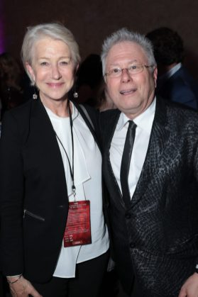 Helen Mirren and Alan Menken attend the World Premiere of DisneyÕs Aladdin after party at the Roosevelt Hotel in Hollywood, CA on Tuesday, May 21, 2019, in the culmination of the filmÕs Magic Carpet World Tour with stops in Paris, London, Berlin, Tokyo, Mexico City and Amman, Jordan. (photo: Alex J. Berliner/ABImages)