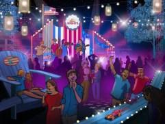 Summer Nights Calico Park Rendering