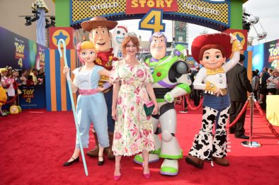 HOLLYWOOD, CA - JUNE 11: Christina Hendricks attends the world premiere of Disney and Pixar's TOY STORY 4 at the El Capitan Theatre in Hollywood, CA on Tuesday, June 11, 2019. (Photo by Alberto E. Rodriguez/Getty Images for Disney) *** Local Caption *** Christina Hendricks
