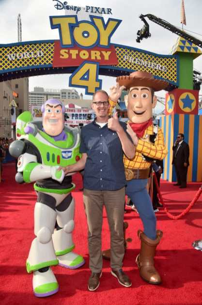 HOLLYWOOD, CA - JUNE 11: Chief Creative Officer of Pixar Animation Studios Pete Docter attends the world premiere of Disney and Pixar's TOY STORY 4 at the El Capitan Theatre in Hollywood, CA on Tuesday, June 11, 2019. (Photo by Alberto E. Rodriguez/Getty Images for Disney) *** Local Caption *** Pete Docter