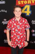 HOLLYWOOD, CA - JUNE 11: Jet Jurgensmeyer attends the world premiere of Disney and Pixar's TOY STORY 4 at the El Capitan Theatre in Hollywood, CA on Tuesday, June 11, 2019. (Photo by Jesse Grant/Getty Images for Disney) *** Local Caption *** Jet Jurgensmeyer
