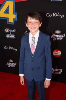 HOLLYWOOD, CA - JUNE 11: Jack McGraw attends the world premiere of Disney and Pixar's TOY STORY 4 at the El Capitan Theatre in Hollywood, CA on Tuesday, June 11, 2019. (Photo by Jesse Grant/Getty Images for Disney) *** Local Caption *** Jack McGraw