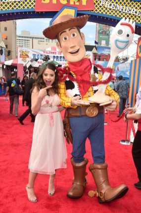 HOLLYWOOD, CA - JUNE 11: Sarah Jeffery attends the world premiere of Disney and Pixar's TOY STORY 4 at the El Capitan Theatre in Hollywood, CA on Tuesday, June 11, 2019. (Photo by Alberto E. Rodriguez/Getty Images for Disney) *** Local Caption *** Sarah Jeffery