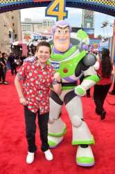 HOLLYWOOD, CA - JUNE 11: Jet Jurgensmeyer attends the world premiere of Disney and Pixar's TOY STORY 4 at the El Capitan Theatre in Hollywood, CA on Tuesday, June 11, 2019. (Photo by Alberto E. Rodriguez/Getty Images for Disney) *** Local Caption *** Jet Jurgensmeyer