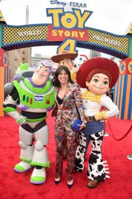 HOLLYWOOD, CA - JUNE 11: Melissa Villaseñor attends the world premiere of Disney and Pixar's TOY STORY 4 at the El Capitan Theatre in Hollywood, CA on Tuesday, June 11, 2019. (Photo by Alberto E. Rodriguez/Getty Images for Disney) *** Local Caption *** Melissa Villaseñor