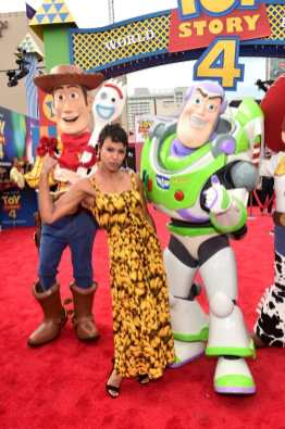 HOLLYWOOD, CA - JUNE 11: Carly Hughes attends the world premiere of Disney and Pixar's TOY STORY 4 at the El Capitan Theatre in Hollywood, CA on Tuesday, June 11, 2019. (Photo by Alberto E. Rodriguez/Getty Images for Disney) *** Local Caption *** Carly Hughes