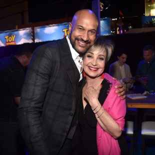 HOLLYWOOD, CA - JUNE 11: (L-R) Keegan-Michael Key and Annie Potts attend the world premiere of Disney and Pixar's TOY STORY 4 at the El Capitan Theatre in Hollywood, CA on Tuesday, June 11, 2019. (Photo by Alberto E. Rodriguez/Getty Images for Disney) *** Local Caption *** Annie Potts; Keegan-Michael Key