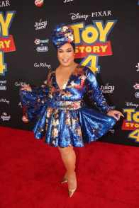 HOLLYWOOD, CA - JUNE 11: Patrick Starrr attends the world premiere of Disney and Pixar's TOY STORY 4 at the El Capitan Theatre in Hollywood, CA on Tuesday, June 11, 2019. (Photo by Jesse Grant/Getty Images for Disney) *** Local Caption *** Patrick Starrr