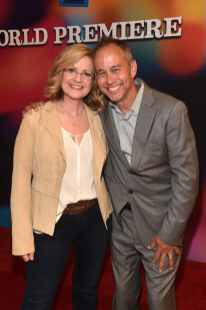 HOLLYWOOD, CA - JUNE 11: Bonnie Hunt (L) and producer Jonas Rivera attend the world premiere of Disney and Pixar's TOY STORY 4 at the El Capitan Theatre in Hollywood, CA on Tuesday, June 11, 2019. (Photo by Alberto E. Rodriguez/Getty Images for Disney) *** Local Caption *** Bonnie Hunt; Jonas Rivera