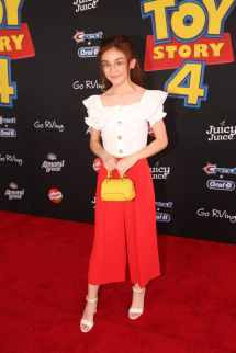 HOLLYWOOD, CA - JUNE 11: Anna Cathcart attends the world premiere of Disney and Pixar's TOY STORY 4 at the El Capitan Theatre in Hollywood, CA on Tuesday, June 11, 2019. (Photo by Jesse Grant/Getty Images for Disney) *** Local Caption *** Anna Cathcart