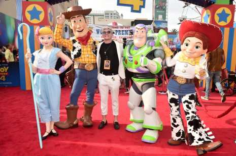 HOLLYWOOD, CA - JUNE 11: Casey Barker attends the world premiere of Disney and Pixar's TOY STORY 4 at the El Capitan Theatre in Hollywood, CA on Tuesday, June 11, 2019. (Photo by Alberto E. Rodriguez/Getty Images for Disney) *** Local Caption *** Casey Barker