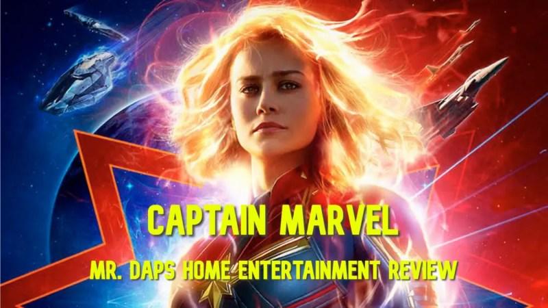Captain Marvel Home Entertainment Review