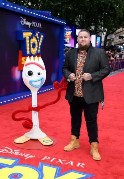 "LONDON, ENGLAND - JUNE 16: Rag'n'Bone Man attends the European premiere of Disney and Pixar's ""Toy Story 4"" at the Odeon Luxe Leicester Square on June 16, 2019 in London, England. (Photo by Gareth Cattermole/Getty Images for Disney and Pixar)"