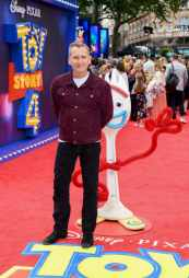 """LONDON, ENGLAND - JUNE 16: Christopher Eccleston attends the European premiere of Disney and Pixar's """"Toy Story 4"""" at the Odeon Luxe Leicester Square on June 16, 2019 in London, England. (Photo by Gareth Cattermole/Getty Images for Disney and Pixar)"""