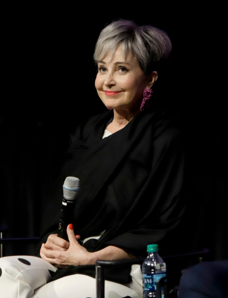 ORLANDO, FLORIDA - JUNE 08: Annie Potts attends the Global Press Junket for Pixar's TOY STORY 4 at Disney's Hollywood Studios on June 08, 2019 in Orlando, Florida. (Photo by John Parra/Getty Images for Disney)