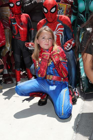 SAN DIEGO, CALIFORNIA - JULY 20: An attendee in cosplay is seen at the #IMDboat at San Diego Comic-Con 2019: Day Three at the IMDb Yacht on July 20, 2019 in San Diego, California. (Photo by Rich Polk/Getty Images for IMDb)