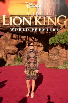 "HOLLYWOOD, CALIFORNIA - JULY 09: Linda Woolverton attends the World Premiere of Disney's ""THE LION KING"" at the Dolby Theatre on July 09, 2019 in Hollywood, California. (Photo by Alberto E. Rodriguez/Getty Images for Disney)"