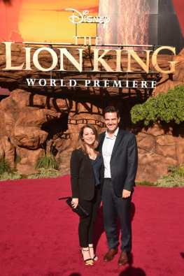 "HOLLYWOOD, CALIFORNIA - JULY 09: Producer Karen Gilchrist (L) attends the World Premiere of Disney's ""THE LION KING"" at the Dolby Theatre on July 09, 2019 in Hollywood, California. (Photo by Alberto E. Rodriguez/Getty Images for Disney)"