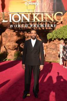 """HOLLYWOOD, CALIFORNIA - JULY 09: Chiwetel Ejiofor attends the World Premiere of Disney's """"THE LION KING"""" at the Dolby Theatre on July 09, 2019 in Hollywood, California. (Photo by Alberto E. Rodriguez/Getty Images for Disney)"""
