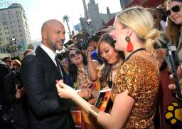 "HOLLYWOOD, CALIFORNIA - JULY 09: Keegan-Michael Key attends the World Premiere of Disney's ""THE LION KING"" at the Dolby Theatre on July 09, 2019 in Hollywood, California. (Photo by Charley Gallay/Getty Images for Disney)"