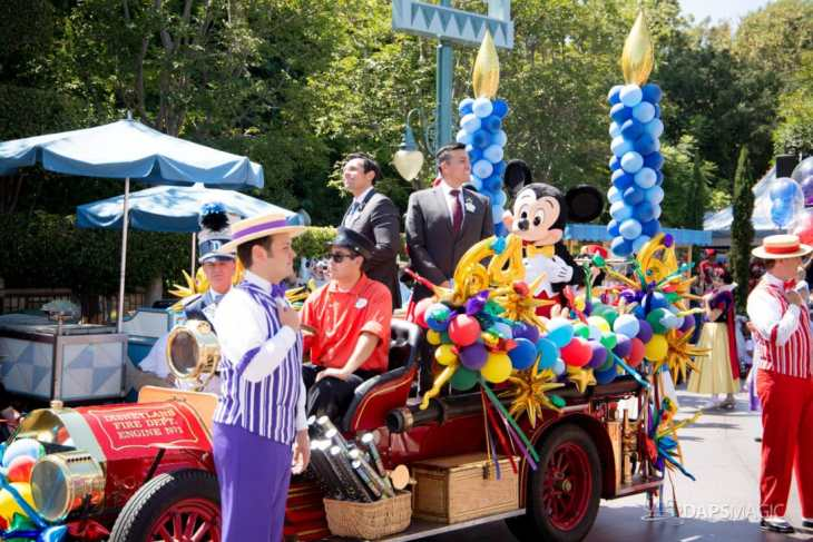 Disneyland 64th Birthday Cavalcade-34