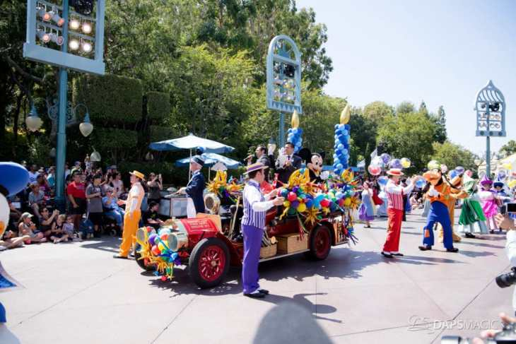 Disneyland 64th Birthday Cavalcade-42