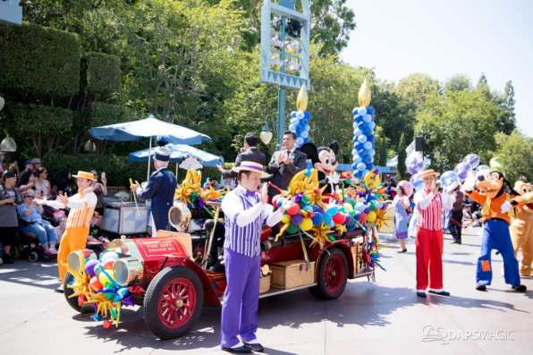 Disneyland 64th Birthday Cavalcade-43