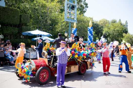 Disneyland 64th Birthday Cavalcade-44