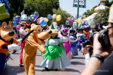 Disneyland 64th Birthday Cavalcade-47
