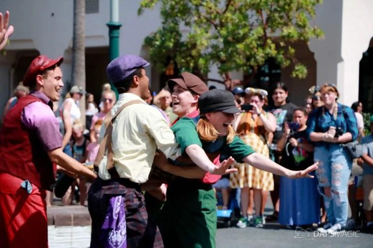 Final Performance Red Car Trolley News Boys at Disney California Adventure-1